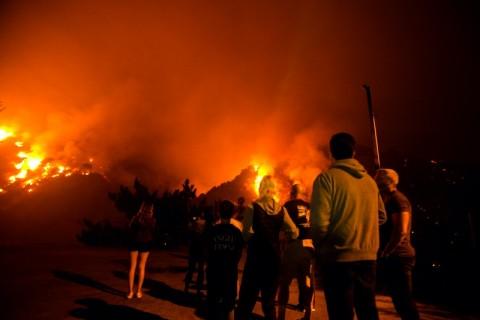 Asap Kebakaran Hutan di Amerika Serikat Mencapai Eropa