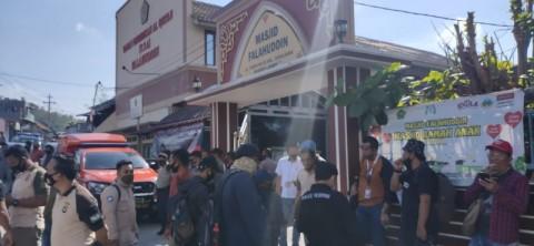 Polisi Rekonstruksi Penikaman Syekh Ali Jaber