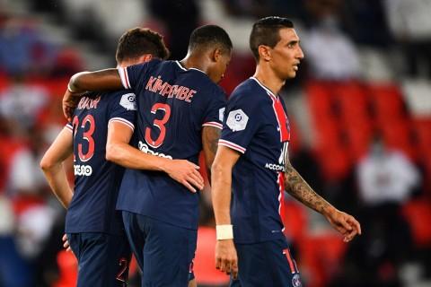 Diwarnai Kartu Merah, PSG Raih Kemenangan Perdana di Ligue 1