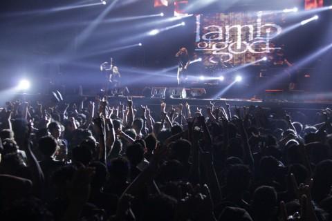 EKSKLUSIF: Lamb of God Bawakan Album Ashes of the Wake Secara Penuh di Konser Online