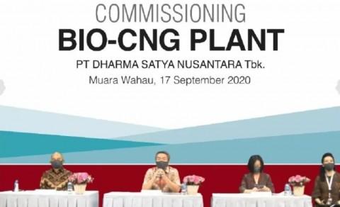 DSNG Uji Coba Produksi Fasilitas Bio-CNG Plant