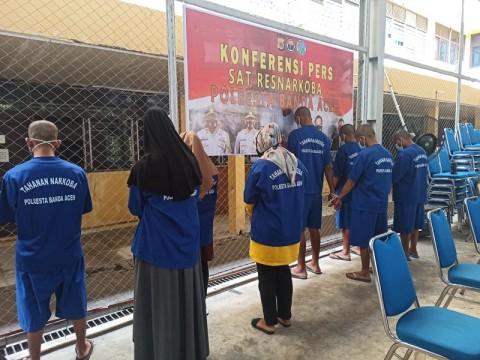 Diupah Rp40 Juta, Mahasiswa di Aceh Jadi Kurir Sabu