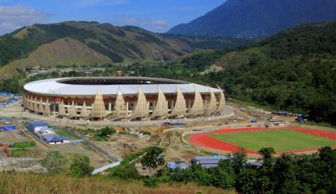 Stadion Papua Bangkit Bakal Berganti Nama