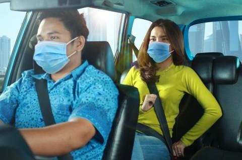 Tata Cara Naik Taksi Selama PSBB Jakarta