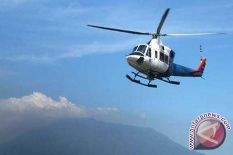 Helikopter PT NUH Diduga Mendarat Darurat di Paniai