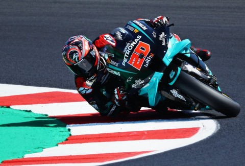 MotoGP Emilia Romagna: Yamaha Terdepan di FP1