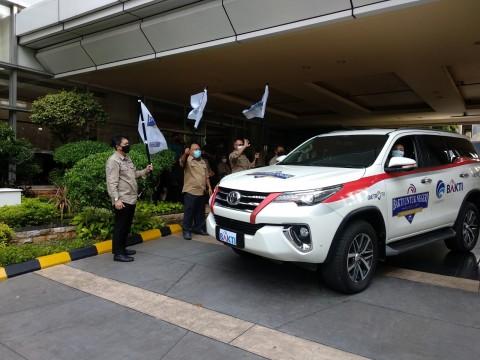 Metro TV dan BAKTI Lepas Tim Ekspedisi Nusa Tenggara