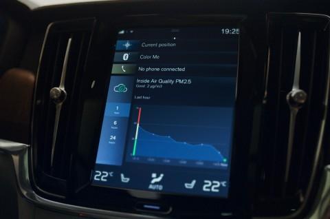 Fitur di Volvo yang Bisa Bersihkan Udara Otomatis