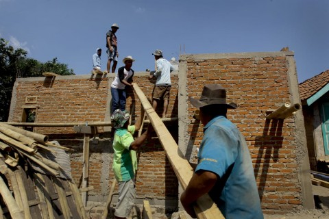 Program Bedah Rumah Serap 252.443 Tenaga Kerja