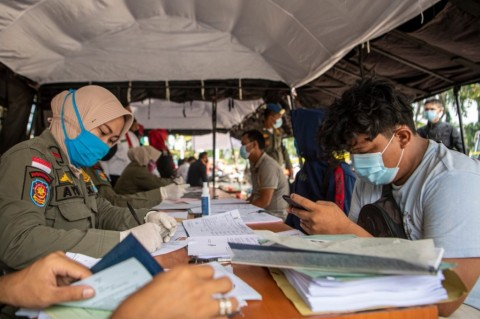 Langgar PSBB Jilid II, 13.562 Orang Terkena Sanksi Sosial