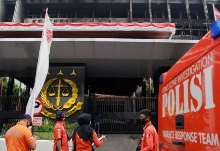 Polisi Segera Periksa Saksi Kunci Kebakaran Kejagung