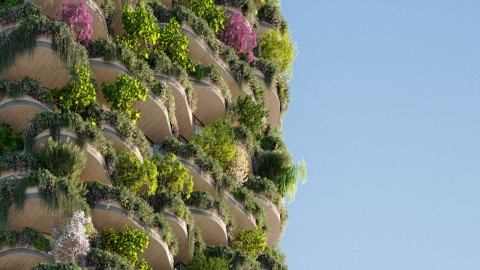 Urban Forest, Apartemen Berbalut Puluhan Ribu Tanaman