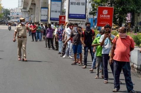 Kasus Harian Covid-19 India Masih di Atas 90 Ribu