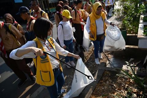 Indonesia Menuju <i>Hattrick</i> Pimpin Aksi Pembersihan Sampah Sedunia