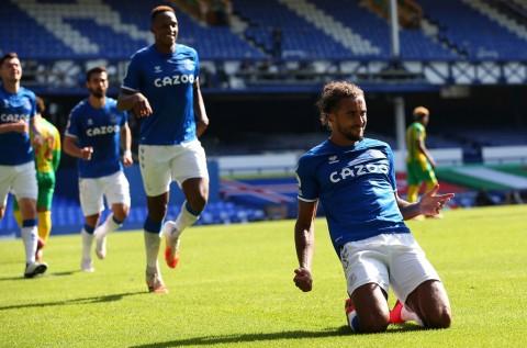 Hattrick Calvert-Lewin Sempurnakan Kemenangan Everton atas West Brom