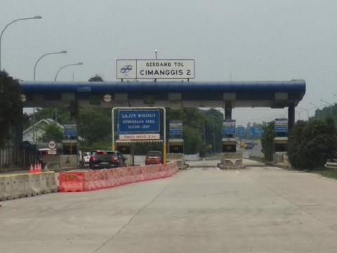 Gerbang Tol Cimanggis 2 Satelit Khusus untuk Kendaraan Golongan I
