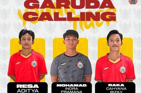 Timnas U-16 Panggil Tiga Pemain Persija untuk TC