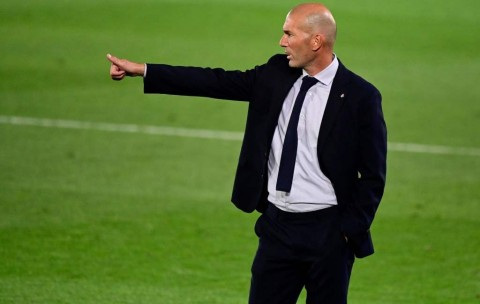 Zidane Kecewa Madrid Buang-buang Peluang Lawan Sociedad