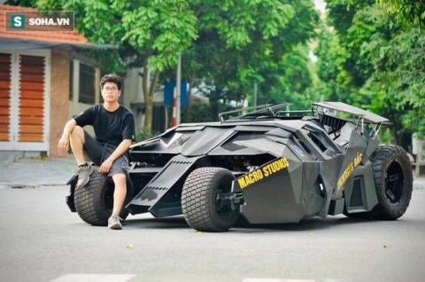Tak Perlu Bruce Wayne, Mahasiswa Juga Bisa Bikin Batmobile