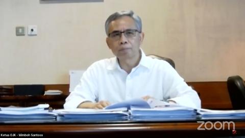 OJK Minta Bantuan Akademisi Dorong Pengembangan Keuangan Syariah