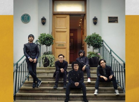 D'Masiv Wujudkan Mimpi Rekaman Album di Abbey Road Studio