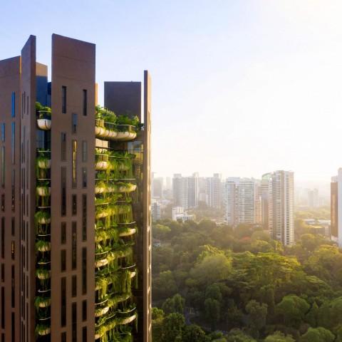 Eden, Apartemen 'Hijau' di Singapura