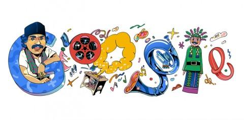 Google Doodle Hari Ini Kenang Seniman Betawi Benyamin Sueb