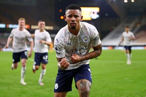 Manchester City Menang 3-1 Atas Wolves