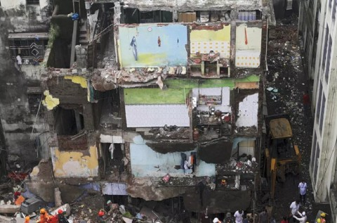 Korban Bangunan Roboh di Bhiwandi India Jadi 20 Orang