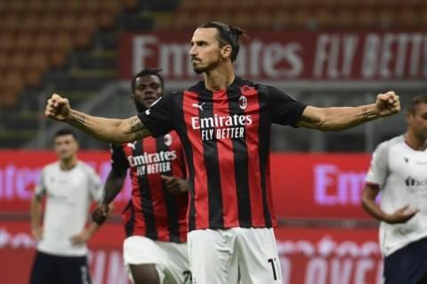 Komentar Sombong Ibra: Saya Bisa Saja Cetak 4 Gol ke Gawang Bologna