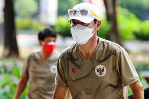 Shin Tae-yong Fokus Tingkatkan Kekuatan Fisik Pemain Timnas U-19