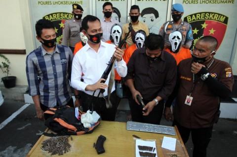 Kelompok Penculik Bos Showroom di Lhokseumawe Ditangkap