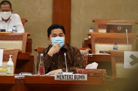 Erick Thohir Usul RUU BUMN Perjelas Penugasan dan Investasi Perusahaan Pelat Merah