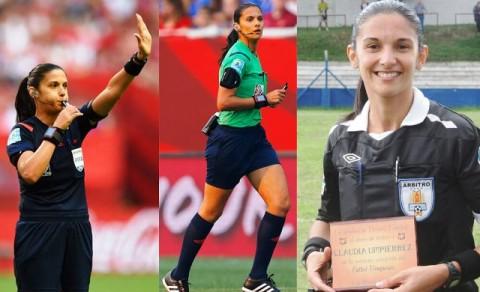 6 Wasit Wanita Terpanas di Cabang Sepak Bola