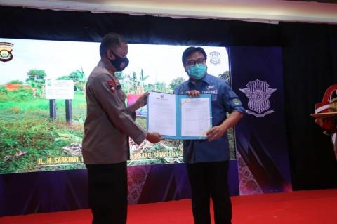 Gubernur Sumsel Dianggap Dorong Kemajuan Kepolisian