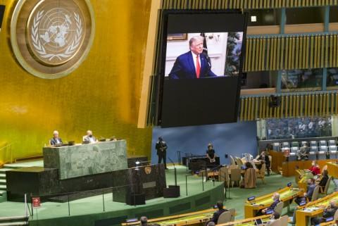 Pada Sidang PBB, Trump Minta Tiongkok Bertanggungjawab Atas Covid-19