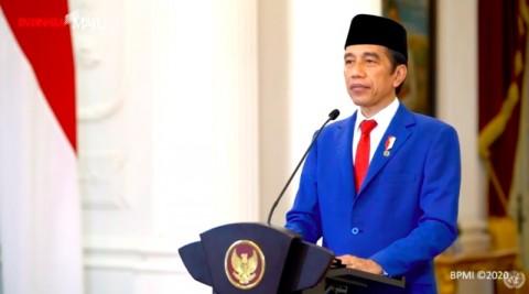 Pidato Pertama di PBB, Jokowi: Covid-19 Tak Kenal Batas Negara