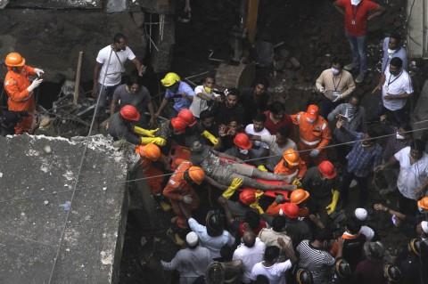 Korban Tewas Runtuhnya Gedung di India Jadi 26 Orang