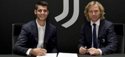 Resmi, Alvaro Morata Gabung Juventus