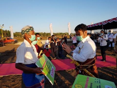 Mentan Dorong Petani Jagung NTT Manfaatkan KUR