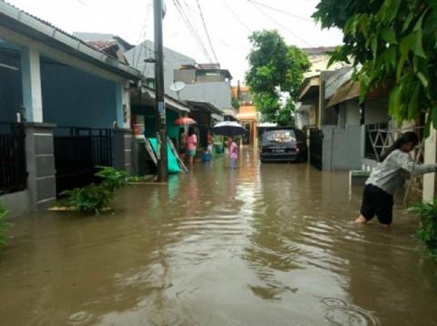 Kecamatan Pondok Aren dan Setu Jadi Titik Rawan Banjir di Tangsel