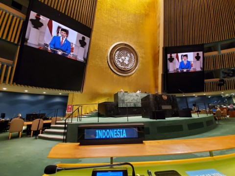 Indonesia Urges UN to Strengthen Cooperation in Tackling Covid-19