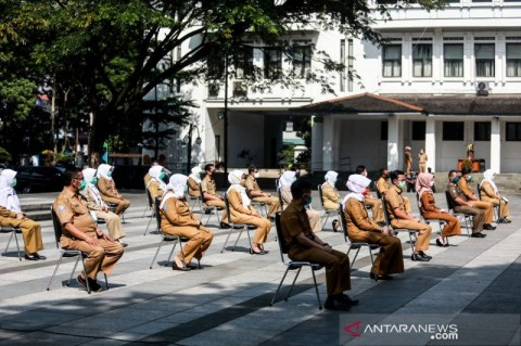 90 Persen ASN Positif Covid-19 di Kota Bandung Sembuh
