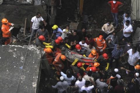 Bertambah Lagi, Korban Bangunan Roboh India Jadi 39 Orang