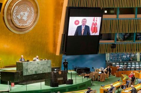 Erdogan Tekankan Pentingnya Restrukturisasi DK PBB