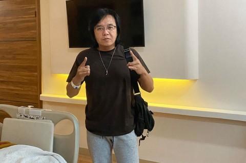 Setelah Dirawat di Rumah Sakit, Ari Lasso Olahraga Menembak