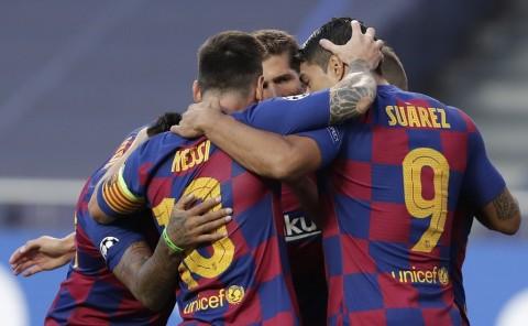 Para Pemain Barcelona Masih Trauma dengan Kekalahan dari Muenchen