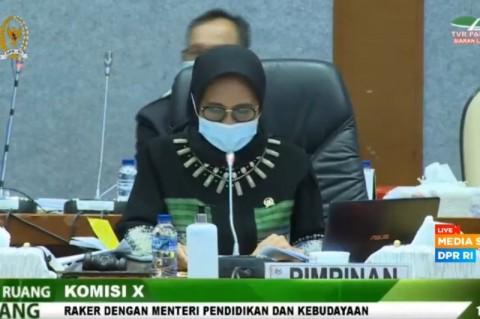 Komisi X Sepakati Pagu Anggaran Kemendikbud 2021 Rp81,5 Triliun
