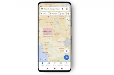 Google Maps Bisa Tampilkan Peta Covid-19