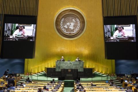 Raja Salman Serang Iran di Sidang PBB